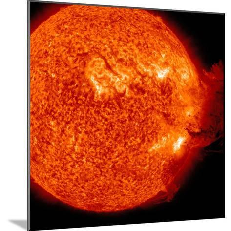 A M-2 Solar Flare with Coronal Mass Ejection-Stocktrek Images-Mounted Photographic Print