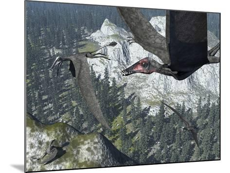 A Flock of Dorygnathus-Stocktrek Images-Mounted Photographic Print