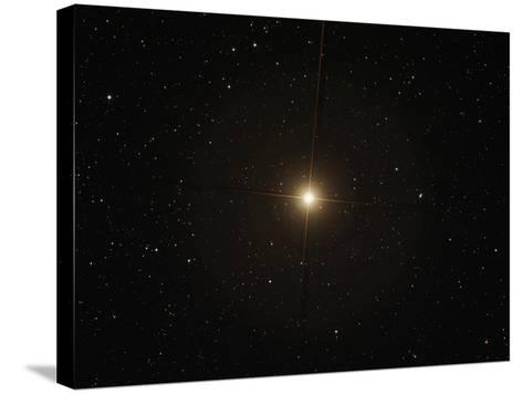 The Red Supergiant Betelgeuse-Stocktrek Images-Stretched Canvas Print