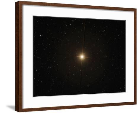 The Red Supergiant Betelgeuse-Stocktrek Images-Framed Art Print