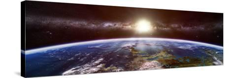 Artist's Concept of an Extraterrestrial Planet-Stocktrek Images-Stretched Canvas Print