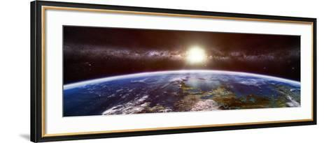 Artist's Concept of an Extraterrestrial Planet-Stocktrek Images-Framed Art Print