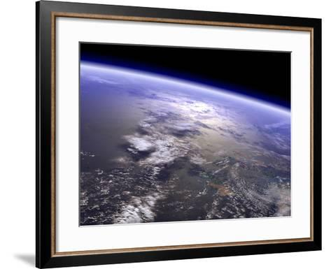 Artist's Concept of a Terrestrial Planet-Stocktrek Images-Framed Art Print