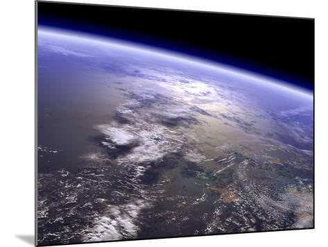 Artist's Concept of a Terrestrial Planet-Stocktrek Images-Mounted Photographic Print