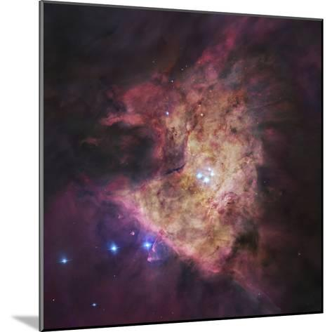 The Center of the Orion Nebula, known as the Trapezium Cluster-Stocktrek Images-Mounted Photographic Print
