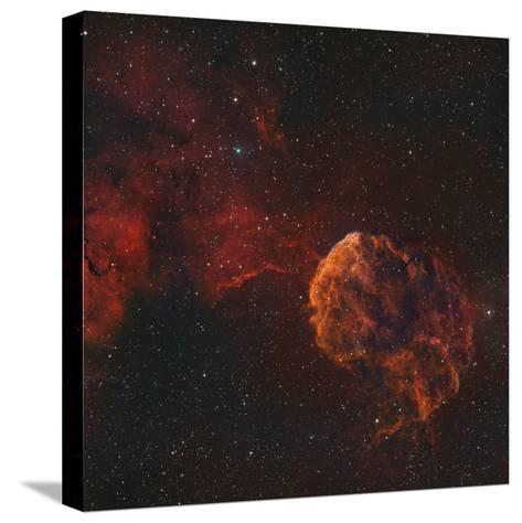 The Jellyfish Nebula-Stocktrek Images-Stretched Canvas Print