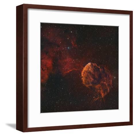The Jellyfish Nebula-Stocktrek Images-Framed Art Print