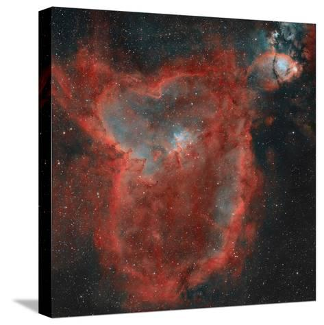 The Heart Nebula-Stocktrek Images-Stretched Canvas Print