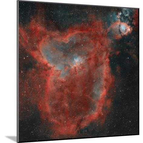The Heart Nebula-Stocktrek Images-Mounted Photographic Print