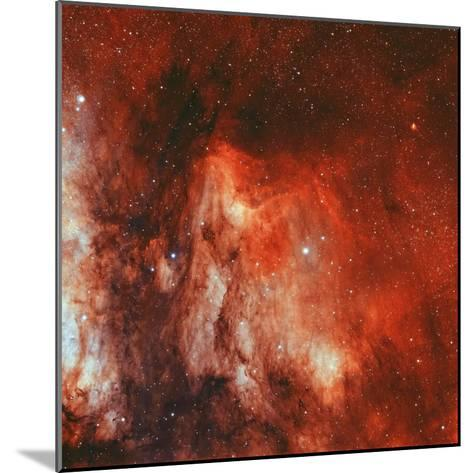 The Pelican Nebula-Stocktrek Images-Mounted Photographic Print