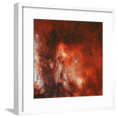 The Pelican Nebula-Stocktrek Images-Framed Art Print