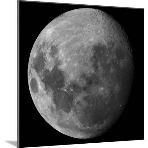 Three Quarter Moon-Stocktrek Images-Mounted Photographic Print