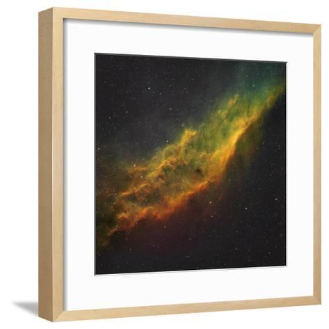 The California Nebula-Stocktrek Images-Framed Art Print