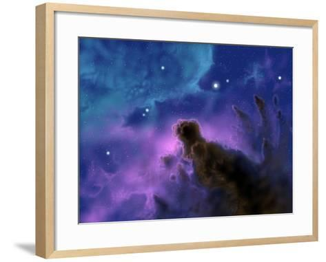 Our Sun May Have Formed from a Protostellar Nebula Like This One-Stocktrek Images-Framed Art Print