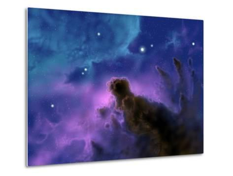 Our Sun May Have Formed from a Protostellar Nebula Like This One-Stocktrek Images-Metal Print