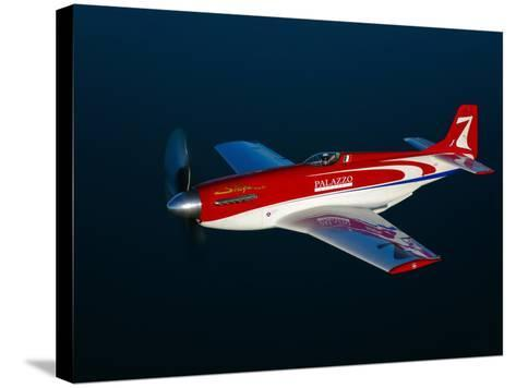 Strega, a Highly Modified P-51D Mustang Used in Unlimited Air Racing-Stocktrek Images-Stretched Canvas Print