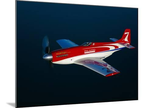 Strega, a Highly Modified P-51D Mustang Used in Unlimited Air Racing-Stocktrek Images-Mounted Photographic Print