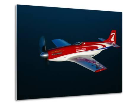 Strega, a Highly Modified P-51D Mustang Used in Unlimited Air Racing-Stocktrek Images-Metal Print
