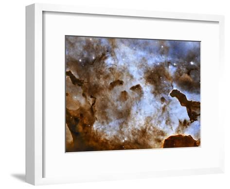 Carina Nebula Star-Forming Pillars-Stocktrek Images-Framed Art Print