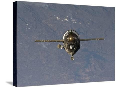The Soyuz TMA-19 Spacecraft-Stocktrek Images-Stretched Canvas Print