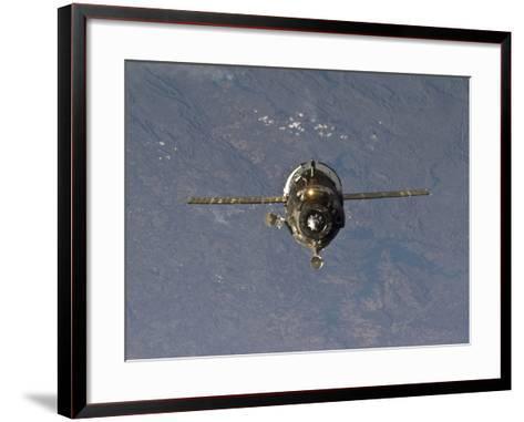The Soyuz TMA-19 Spacecraft-Stocktrek Images-Framed Art Print