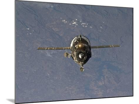 The Soyuz TMA-19 Spacecraft-Stocktrek Images-Mounted Photographic Print