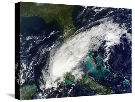 Hurricane Paula-Stocktrek Images-Stretched Canvas Print