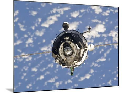 The Soyuz TMA-01M Spacecraft-Stocktrek Images-Mounted Photographic Print