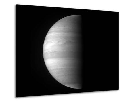 Close-Up View of the Planet Jupiter-Stocktrek Images-Metal Print
