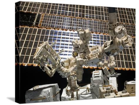 Dextre, the Canadian Space Agency's Robotic Handyman-Stocktrek Images-Stretched Canvas Print