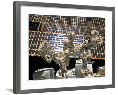 Dextre, the Canadian Space Agency's Robotic Handyman-Stocktrek Images-Framed Art Print