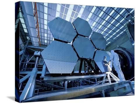A James Webb Space Telescope Array Being Tested in the X-Ray and Cryogenic Facility-Stocktrek Images-Stretched Canvas Print