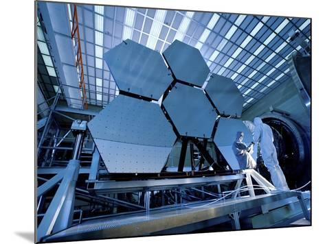 A James Webb Space Telescope Array Being Tested in the X-Ray and Cryogenic Facility-Stocktrek Images-Mounted Photographic Print