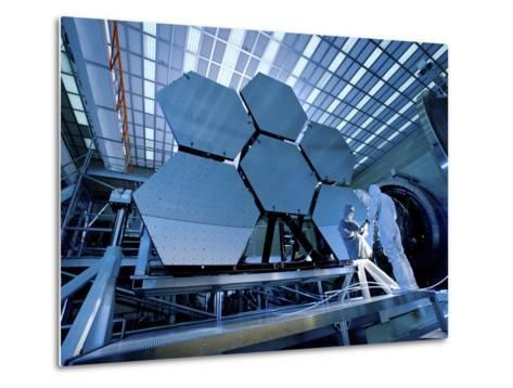 A James Webb Space Telescope Array Being Tested in the X-Ray and Cryogenic Facility-Stocktrek Images-Metal Print