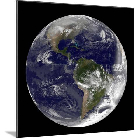 Full Earth Showing North America and South America-Stocktrek Images-Mounted Photographic Print