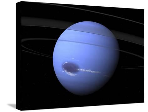 Artist's Concept of Neptune-Stocktrek Images-Stretched Canvas Print