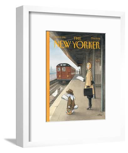 The New Yorker Cover - April 13, 1998-Harry Bliss-Framed Art Print