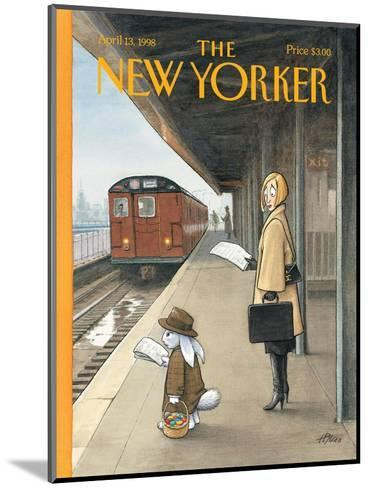The New Yorker Cover - April 13, 1998-Harry Bliss-Mounted Premium Giclee Print