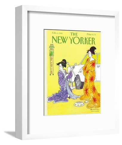 The New Yorker Cover - February 6, 1989-J.B. Handelsman-Framed Art Print