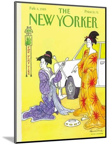 The New Yorker Cover - February 6, 1989-J.B. Handelsman-Mounted Premium Giclee Print