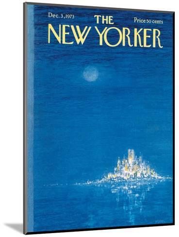 The New Yorker Cover - December 3, 1973-Robert Weber-Mounted Premium Giclee Print