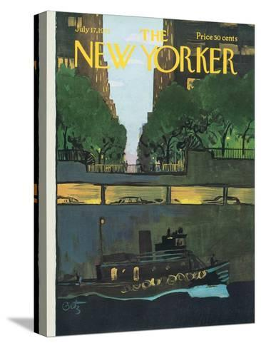 The New Yorker Cover - July 17, 1971-Arthur Getz-Stretched Canvas Print