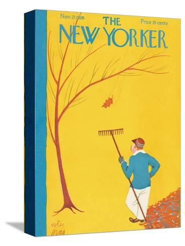 The New Yorker Cover - November 27, 1926-Peter Arno-Stretched Canvas Print
