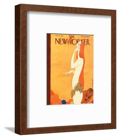 The New Yorker Cover - October 4, 1930-Rea Irvin-Framed Art Print
