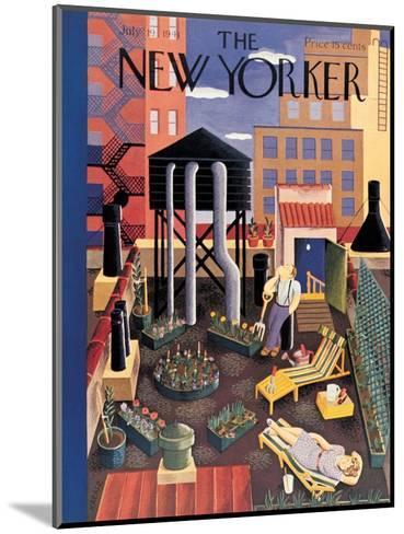 The New Yorker Cover - July 19, 1941-Ilonka Karasz-Mounted Premium Giclee Print