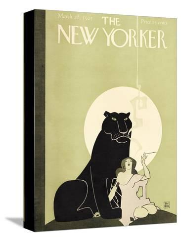 The New Yorker Cover - March 28, 1925-Ray Rohn-Stretched Canvas Print