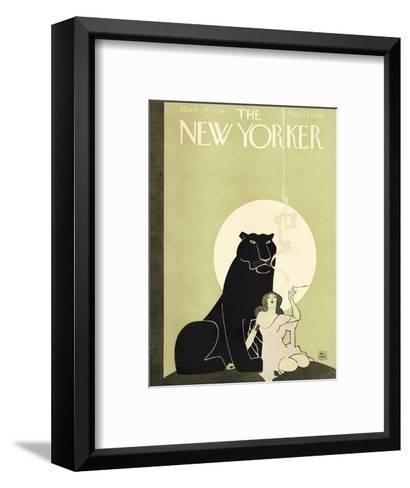 The New Yorker Cover - March 28, 1925-Ray Rohn-Framed Art Print
