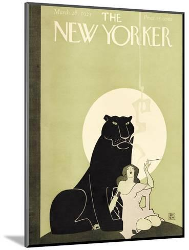 The New Yorker Cover - March 28, 1925-Ray Rohn-Mounted Premium Giclee Print