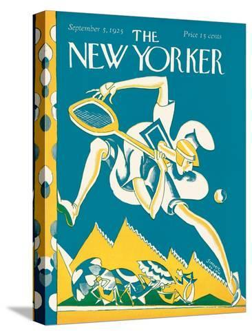 The New Yorker Cover - September 5, 1925-James Daugherty-Stretched Canvas Print