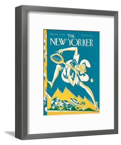 The New Yorker Cover - September 5, 1925-James Daugherty-Framed Art Print